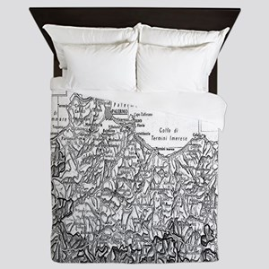 Province of Palermo Queen Duvet
