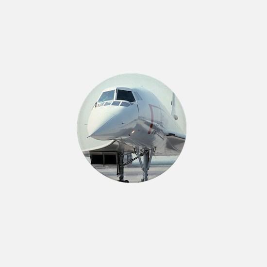 Super! Supersonic Concorde Mini Button