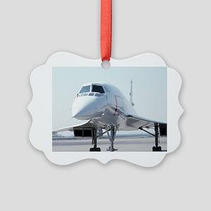 Super! Supersonic Concorde Picture Ornament