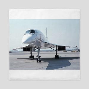 Super! Supersonic Concorde Queen Duvet