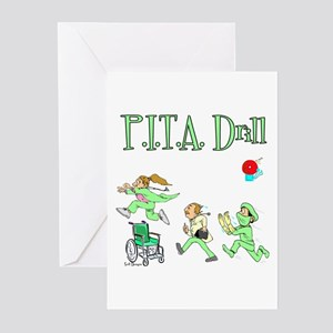 P.I.T.A. Drill Greeting Cards (Pk of 10)