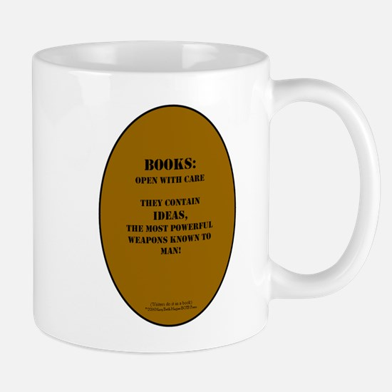 Books: Open with Care Mugs