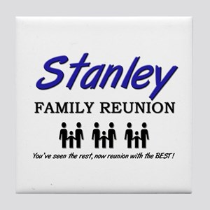 Stanley Family Reunion Tile Coaster