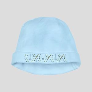 Five Lacrosse Sticks baby hat