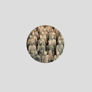 Terracotta Army, China. Mini Button