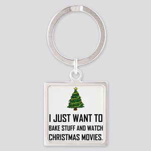 Bake Stuff Watch Christmas Movies Keychains