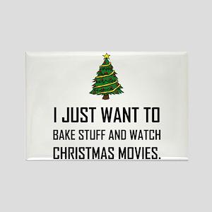 Bake Stuff Watch Christmas Movies Magnets