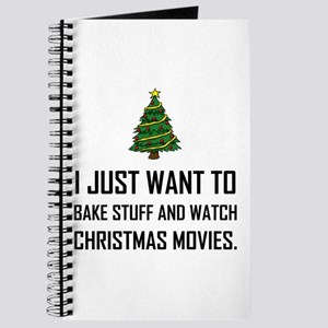 Bake Stuff Watch Christmas Movies Journal