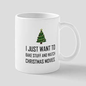 Bake Stuff Watch Christmas Movies Mugs