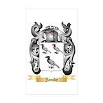 Jansky Sticker (Rectangle 50 pk)