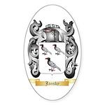 Jansky Sticker (Oval)