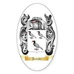 Jansky Sticker (Oval 50 pk)