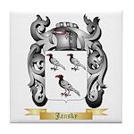 Jansky Tile Coaster