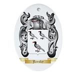 Jansky Ornament (Oval)
