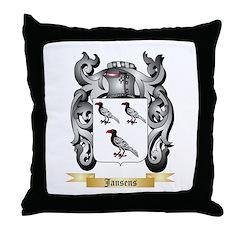 Jansens Throw Pillow