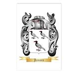 Jansen Postcards (Package of 8)