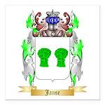 Janse Square Car Magnet 3