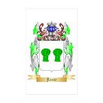 Janse Sticker (Rectangle 50 pk)