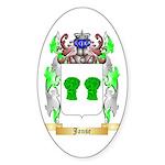 Janse Sticker (Oval 50 pk)