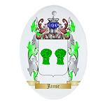 Janse Ornament (Oval)