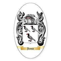 Jansa Sticker (Oval 50 pk)