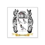 Janovsky Square Sticker 3