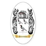 Janovsky Sticker (Oval 10 pk)