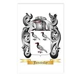 Janovsky Postcards (Package of 8)