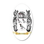 Janovsky 20x12 Oval Wall Decal