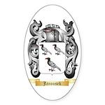 Janousek Sticker (Oval 50 pk)