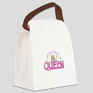 DRAMA QUEEN Canvas Lunch Bag