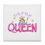 Drama queen Tile Coasters