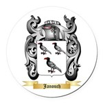 Janouch Round Car Magnet