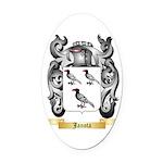 Janota Oval Car Magnet