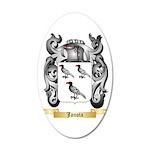 Janota 20x12 Oval Wall Decal