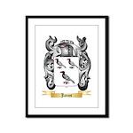 Janos Framed Panel Print
