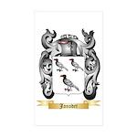 Janodet Sticker (Rectangle 50 pk)