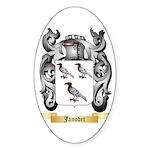 Janodet Sticker (Oval 10 pk)