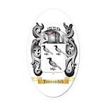 Jannuschek Oval Car Magnet