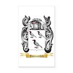 Jannuschek Rectangle Car Magnet