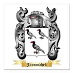 Jannuschek Square Car Magnet 3