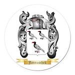Jannuschek Round Car Magnet