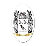 Jannuschek 20x12 Oval Wall Decal