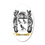 Jannuschek 35x21 Oval Wall Decal