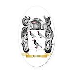 Jannini Oval Car Magnet