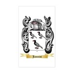 Jannini Sticker (Rectangle)