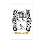 Jannini Sticker (Rectangle 10 pk)