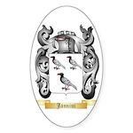 Jannini Sticker (Oval 50 pk)