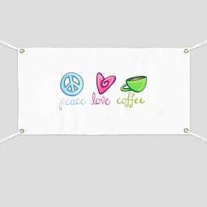 PEACE LOVE COFFEE Banner