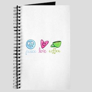 PEACE LOVE COFFEE Journal